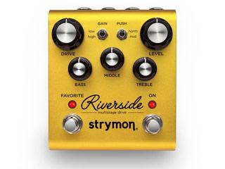 strymon 入手困難 ストライモン テレビで話題 Riverside ドライブ マルチステージ