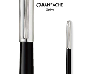CARAN dACHE/カランダッシュ 【Madison II/マディソン2】バイカラー ブラック ボールペン 4680-456