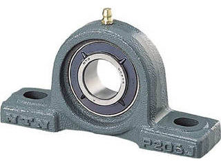 NTN Gベアリングユニット(テーパ穴形アダプタ式)軸径80mm中心高101.6mm UKP218D1