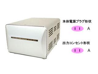 カシムラ NTI1-50 海外国内用大型変圧器 【110-130V/2000VA】