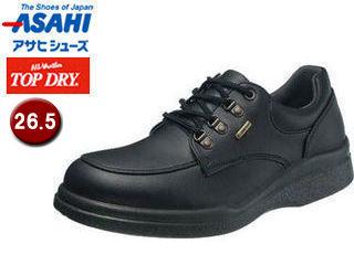 ASAHI/アサヒシューズ AF39401 TDY39-40 トップドライ メンズ カジュアル 防水 シューズ 【26.5】 (ブラック)