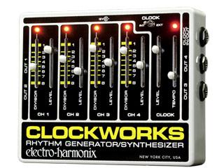 electro harmonix 登場大人気アイテム エレクトロハーモニクス Clockworks デポー リズムジェネレーター 国内正規品 シンセサイザー