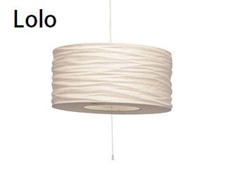 ELUX/エルックス LC10766-BE ルチェルカ 3灯ペンダント ロロ (ベージュ) ※電球別売(ナツメ球のみ付属)