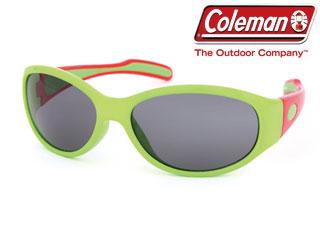 Coleman コールマン 送料込 CKS03-2 セール特別価格 キッズ用グラス レンズ:スモーク フレーム:レッド グリーン