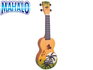 ハワイの雄大な大地を思わせる メーカー再生品 グリーンバースト MAHALO 割り引き マハロ MD1HA デザイナーシリーズ mahalouk GNB ソプラノウクレレ