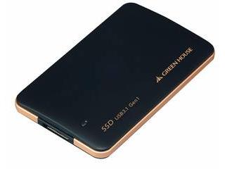 GREEN HOUSE/グリーンハウス USB3.1 Gen1対応 小型外付SSD 960GB GH-SSDU3B960