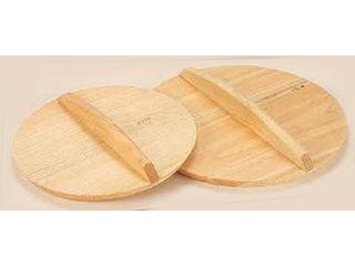 MIYABI/雅漆工芸 厚手サワラ木蓋(鉄餃子鍋45cm用) 48cm用:エムスタ