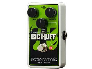 electro harmonix/エレクトロハーモニクス Nano Bass Big Muff Pi ディストーション ベース用 エフェクター 【国内正規品】
