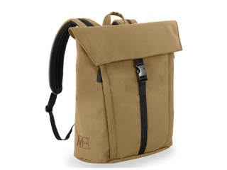 MH WAY/エムエイチウェイ BELL BACKPACK M WITH FLAP キャメル 16L MH-005CA