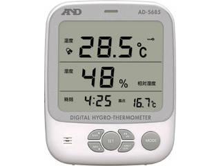 A&D/エー・アンド・デイ ワイヤレス温湿度計(表示機) AD5665