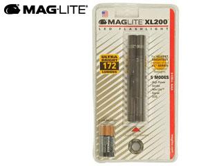 MAG-LITE/マグライト XL200-3096 ミニマグライト XL200 LED (ブリスターパックグレー) ※電池付属
