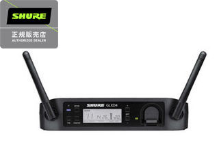 【nightsale】 SHURE/シュアー GLXD4 ワイヤレス受信機 【正規品】 (受信機のみ。送信機が別途必要です。) 【RPS160228】