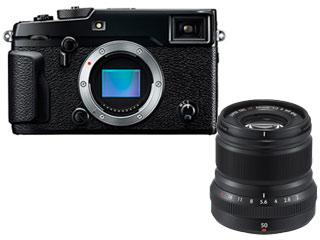 FUJIFILM/フジフイルム FUJIFILM X-Pro2 ボディ(ブラック)+XF50mmF2 R WR B(ブラック) レンズセット 【xpro2set】