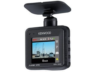 KENWOOD/ケンウッド DRV-340 ドライブレコーダー 大容量16GB microSDHCカード付属
