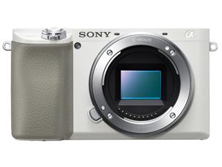 SONY/ソニー ILCE-6100-W(ホワイト) α6100 ミラーレスカメラ ボディ 【アルファ】