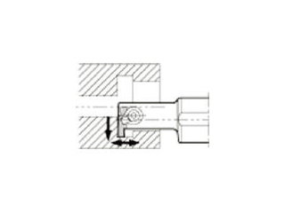 KYOCERA/京セラ 溝入れ用ホルダ GIVR1216-1SS