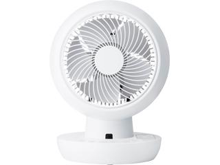 【nightsale】 台数限定!ご購入はお早めに! Three-up/スリーアップ CF-T2001WH 充電式 3Dサーキュレーター ホワイト