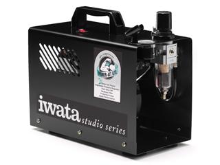 アネスト岩田コーティングソリューションズ オイルフリーミニコンプレッサ 125W IS-925 ANEST IWATA