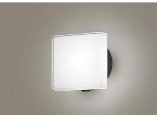 Panasonic/パナソニック LGWC81327LE1 LEDポーチライト オフブラック【昼白色】【明るさセンサ付】【壁直付型】