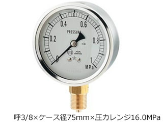 KAKUDAI/カクダイ グリセリン圧力計(Aタイプ) 649-875-04M