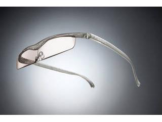 Hazuki Company/ハズキ 【Hazuki/ハズキルーペ】メガネ型拡大鏡 クール カラーレンズ 1.6倍 チタンカラー 改良版 【ムラウチドットコムはハズキルーペ正規販売店です】