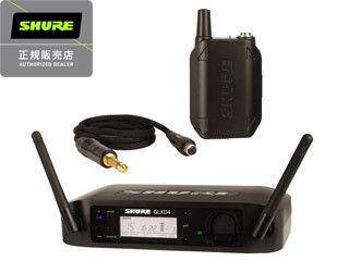 【nightsale】 SHURE/シュアー GLXD14 ギター・ベース用 ワイヤレスシステム 【正規品】【送信機と受信機の1セット+楽器接続ケーブル付属】 【 ボディーパック・ワイヤレスシステム】【RPS160228】