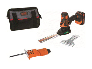 BLACK&DECKER/ブラック&デッカー GEVO183N 18V充電式ガーデンマルチツール