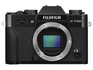 FUJIFILM/フジフイルム F X-T20-B(ブラック) ボディ レンズ交換式プレミアムカメラ