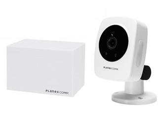 PLANEX/プラネックスコミュニケーションズ フルHDネットワークカメラ スマカメ2 スタンダード CS-QS10+DB-WRT01-CR同時購入セット