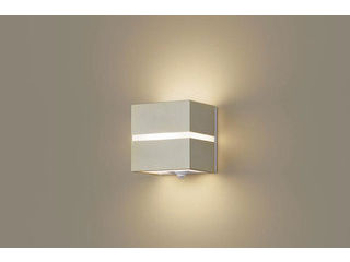 Panasonic/パナソニック LGWC80354LE1 LEDポーチライト プラチナメタリック×ホワイト 【電球色】【明るさセンサ付】【壁直付型】