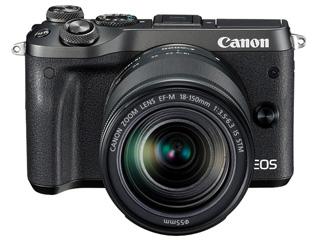 CANON/キヤノン EOS M6・EF-M18-150 IS STM レンズキット(ブラック) 1724C024