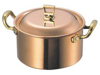 WADASUKE/和田助製作所 SW 銅 深型 両手鍋(蓋付)21cm