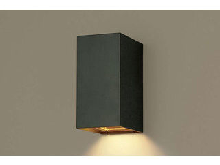 Panasonic/パナソニック LGWC81566BK LEDポーチライト HomeArchi【電球色】【明るさセンサ付】【壁直付型】