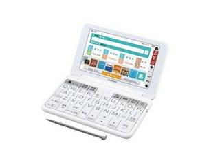 SHARP/シャープ 電子辞書 Brain ブレーン 高校生 英語モデル ホワイト系 PW-SS7-W