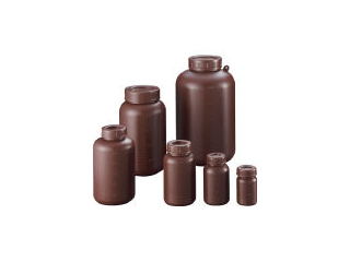 SANPLATEC/サンプラテック PE広口遮光瓶 250ml (100個入) 2911