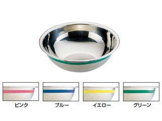 FJI/藤井器物製作所 SA18-8カラーライン ボール/60cm イエロー