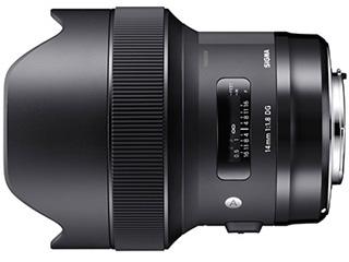 SIGMA/シグマ 14mm F1.8 DG HSM Art キヤノンマウント CANONマウント