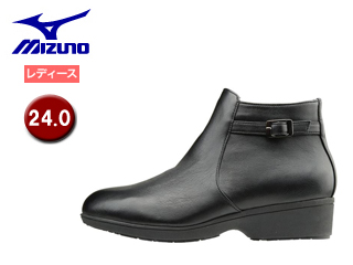 mizuno/ミズノ B1GH1662-09 セレクト655 ショートブーツ レディース 【24.0】 (ブラック)
