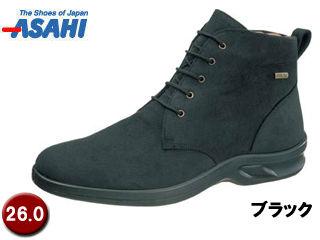 ASAHI/アサヒシューズ ■AF38361 TDY3836 トップドライ ゴアテックス メンズショートブーツ 【26.0cm・4E】 (ブラック)
