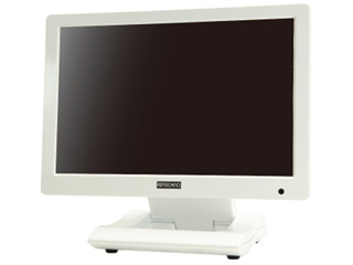 ADTECHNO エーディテクノ LCD1015TW(ホワイト) 10.1型高解度液晶搭載 業務用タッチパネル液晶ディスプレイ