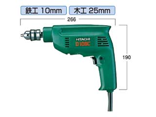 HITACHI/日立工機 D10SC 電動ドリル(鉄工用)
