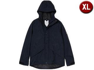 オーセンティックデザインのジップジャケット 返品送料無料 nightsale 日時指定 AIGLE エーグル 透湿防水 NOIR カヴァーリージャケット ZBH084J-005 XLサイズ