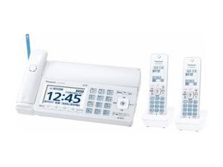 【nightsale】 Panasonic/パナソニック KX-PZ720DW-W デジタルコードレス普通紙ファックス ホワイト 子機2台付き