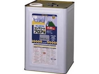 SUNDAY PAINT/サンデーペイント 水性コンクリートフロア用 14kg 若竹色 267522