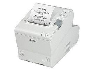 EPSON/エプソン 【キャンセル不可商品】スマートレシートプリンター/ラインサーマル/80mm/PC一体型/ホワイト TM885DT703
