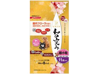 Nisshin/日清ペットフード JPスタイルゴールド 和の究み 超小粒 11歳から 800g(100g×8袋)