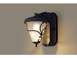 Panasonic/パナソニック LGWC80241LE1 LEDポーチライト オフブラック【電球色】【明るさセンサ付】【壁直付型】