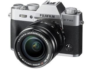 FUJIFILM/フジフイルム F X-T20LK-S(シルバー) レンズキット(XF18-55mmF2.8-4 R LM OIS)