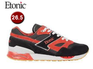 Etonic/エトニック EMLJ17-08-119 STABLE BASE UNISEX 【26.5】(BLK/RED)
