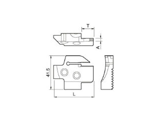 KYOCERA/京セラ 溝入れ用ホルダ KGDFR-150-4B-C